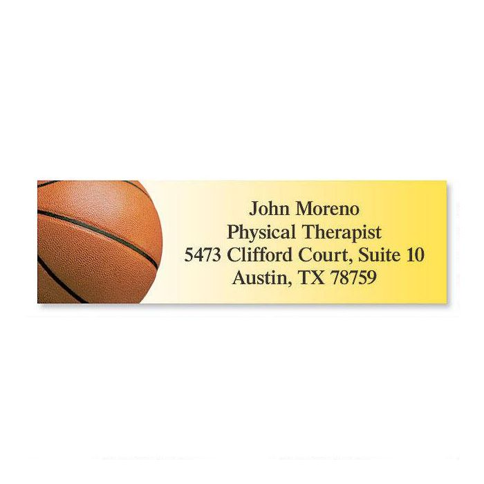Basketball Classic Address Labels