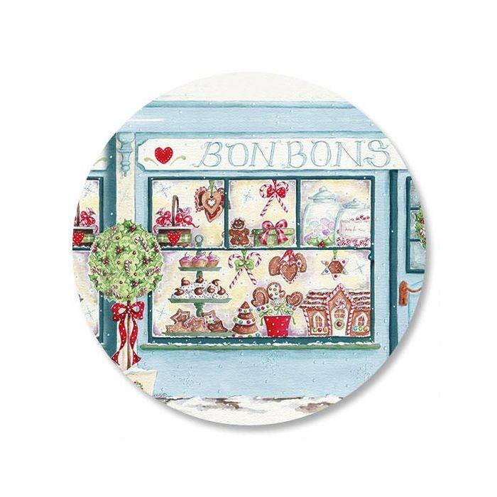 Holiday Window Envelope Sticker Seals