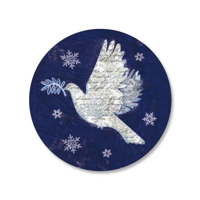 Snow Dove Envelope Sticker Seals