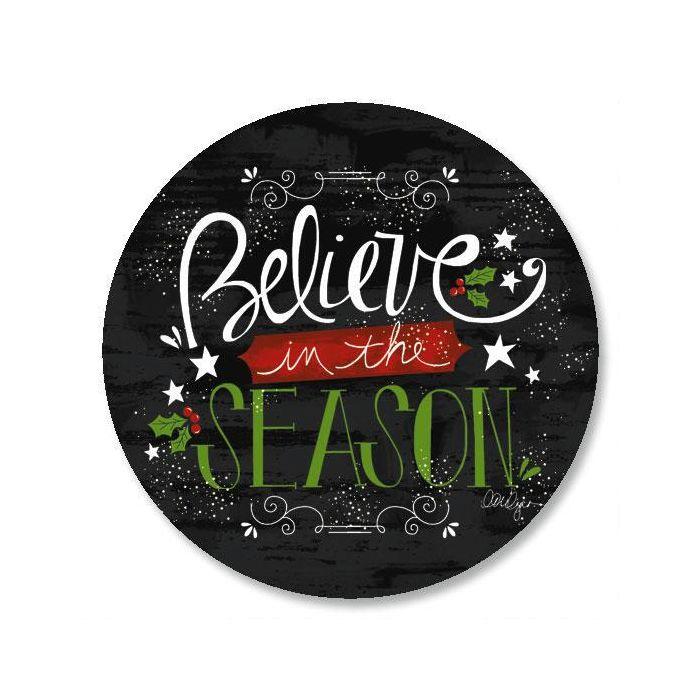 Believe In The Season Envelope Sticker Seals