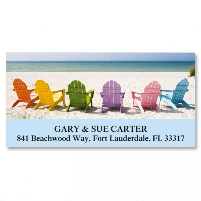 Tropical View Deluxe Address Labels