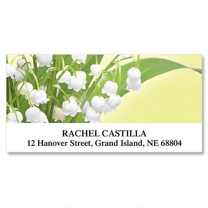 Beauty In The Valley Deluxe Address Labels
