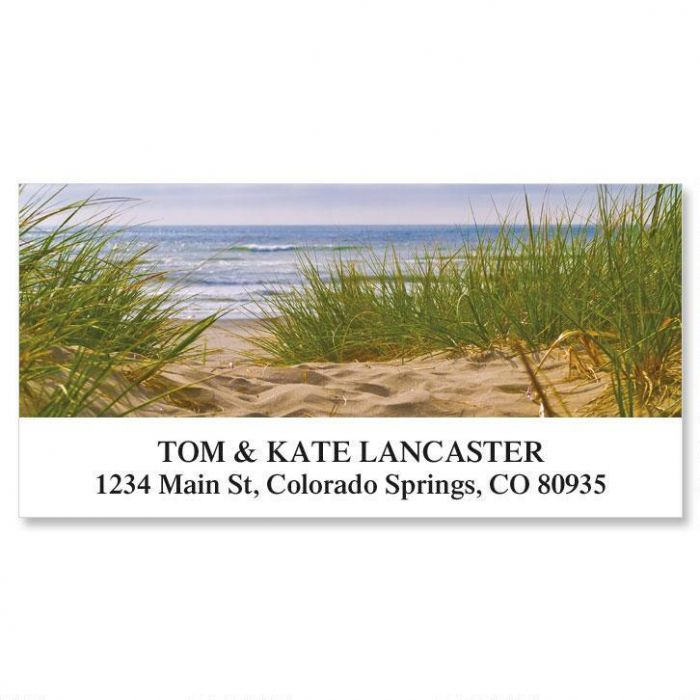 Beach Path Deluxe Address Labels
