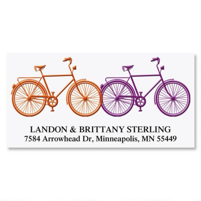 Just Married Deluxe Address Labels