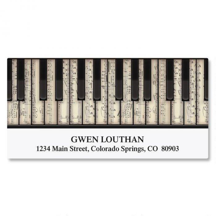 Keyboard Deluxe Address Labels