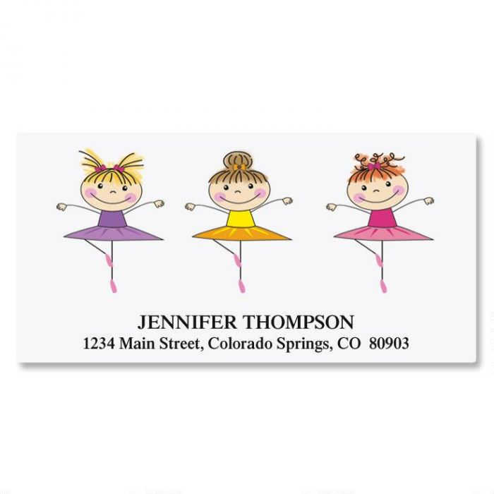 Tiny Dancer Deluxe Address Labels