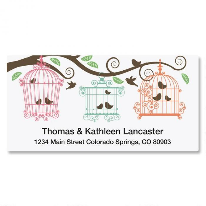 Happy Day Deluxe Address Labels