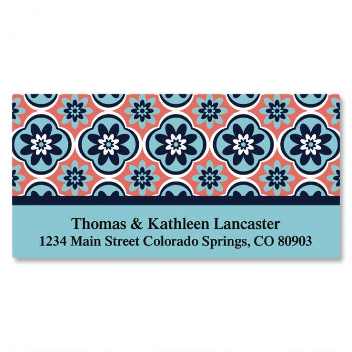 Mosaic Deluxe Address Labels
