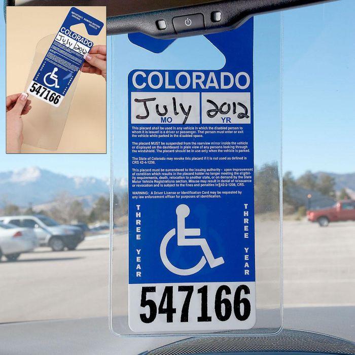 Handicap Placard Holder