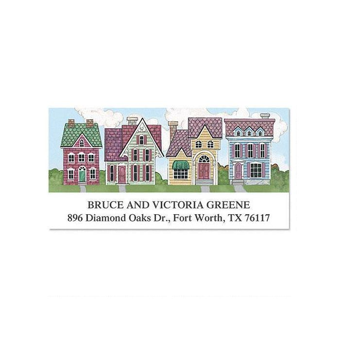 New Neighborhood Deluxe Address Labels