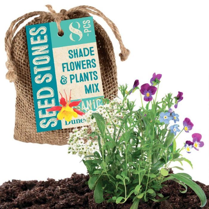 Shade Flowers & Plants Mix Seed Stones