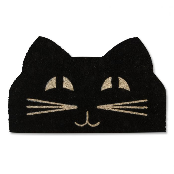 Cat Face Coir Doormat