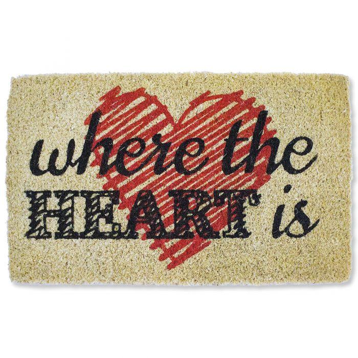 Where the Heart Is Doormat