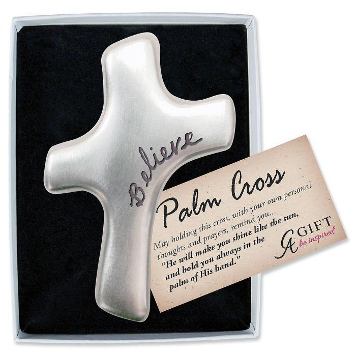 Believe Palm Cross