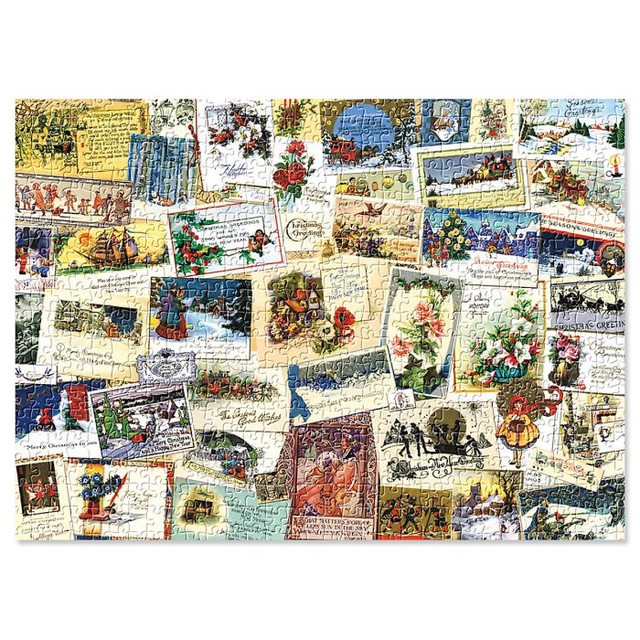 Victorian Greeting Cards Puzzle