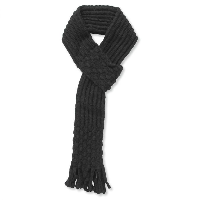 Pull Through Knit Scarf