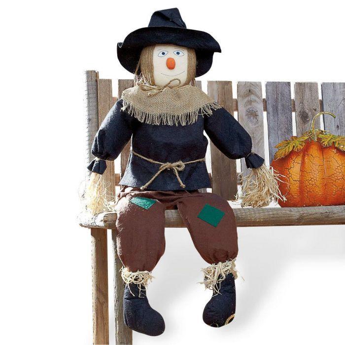 Sitting Scarecrow