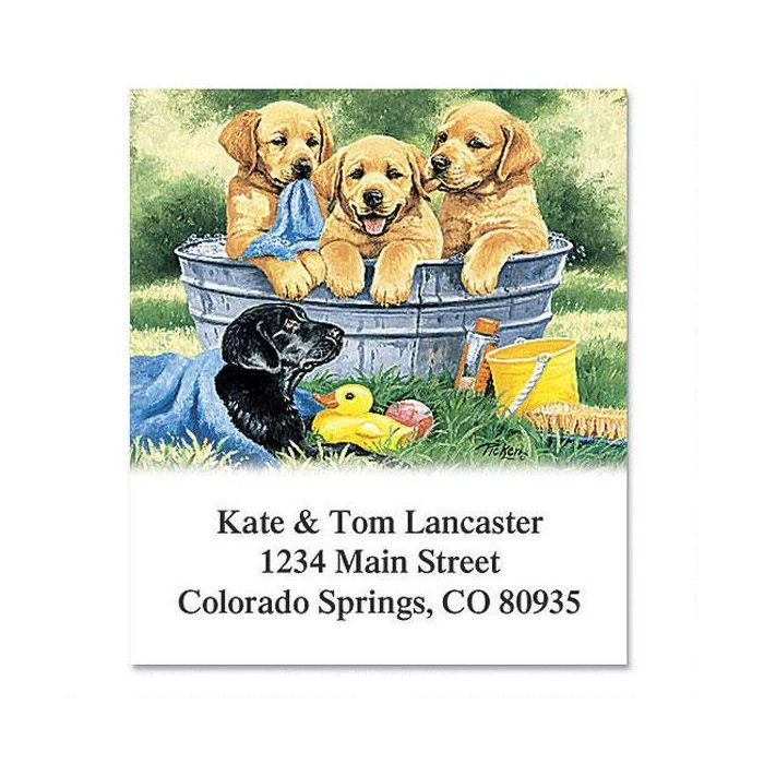 Labrador Love Select Address Labels