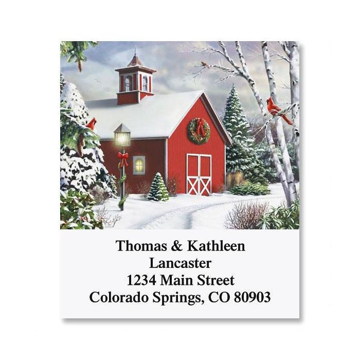After The Snow Select Address Labels