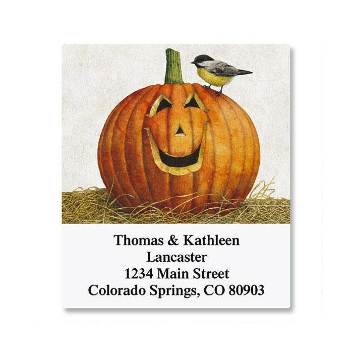 Pumpkin Select Address Labels