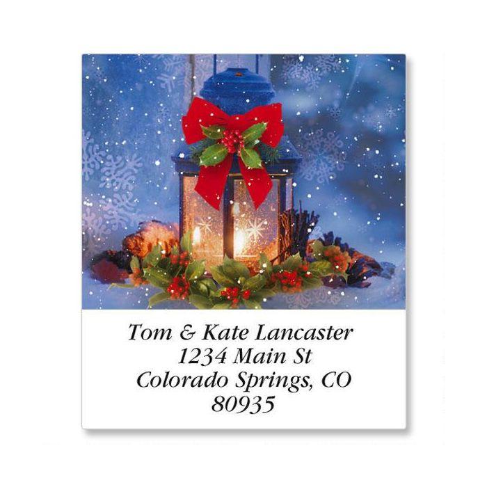 Christmas Calm Select Address Labels