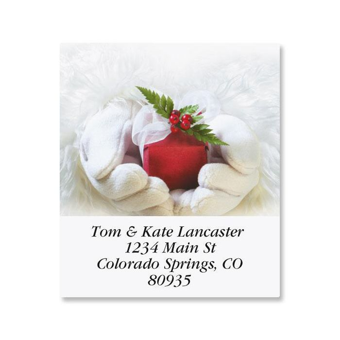 Santa's Gift Select Address Labels