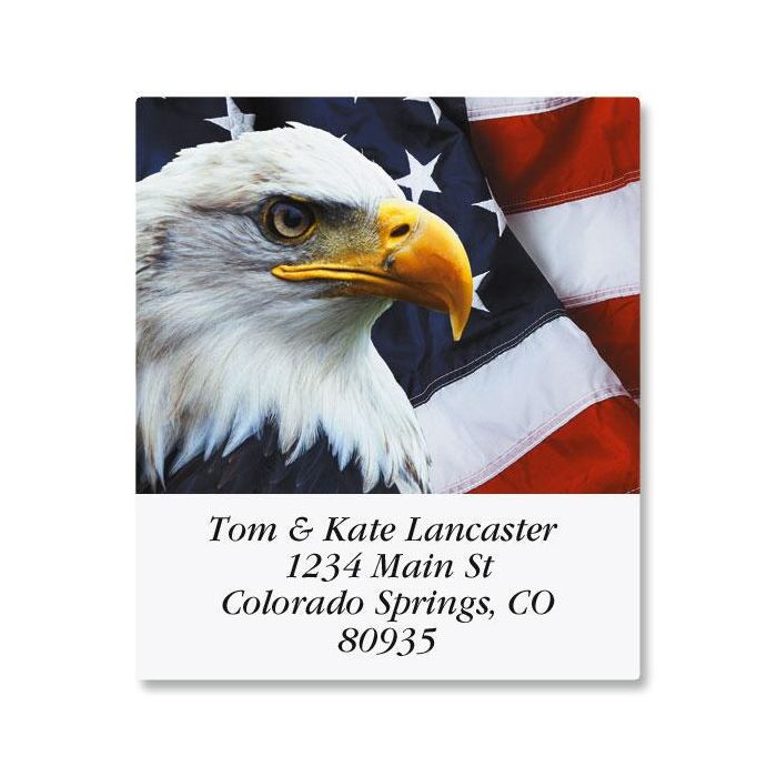 Bald Eagle Select Address Labels