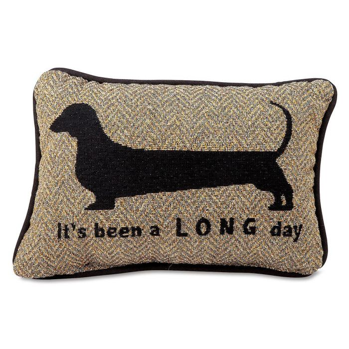 It's Been a Long Day Word Decorative Pillow