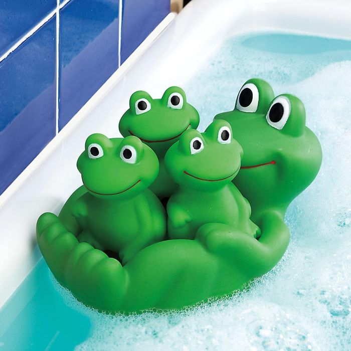 Frog Family Bath Toy
