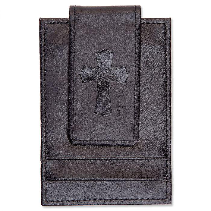 Cross Black Money Clip