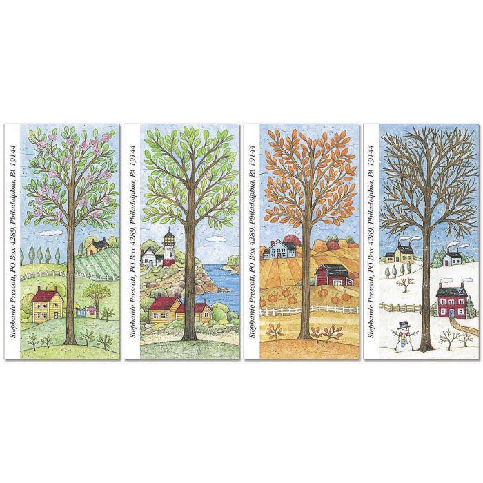 All Season Oversized Address Labels  (4 Designs)