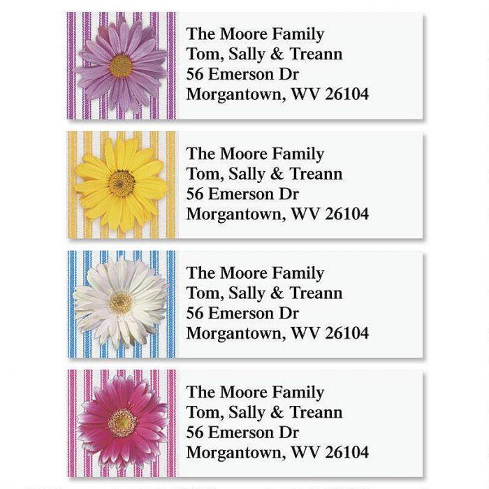 Daisy Classic Address Labels  (4 Designs)