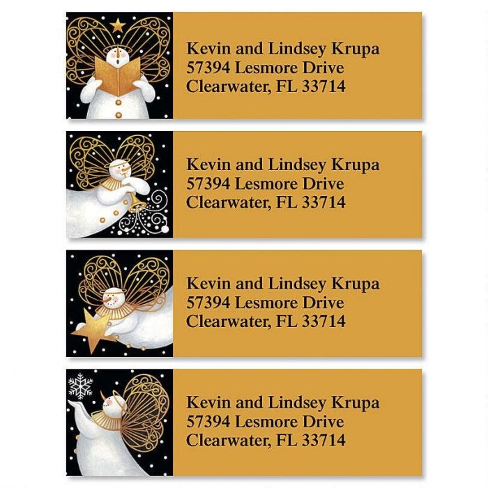 Snow Angels Classic Address Labels  (4 Designs)