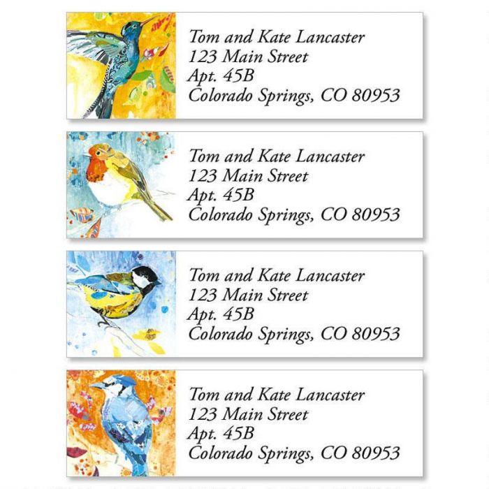 Birdsongs Classic Address Labels  (4 Designs)
