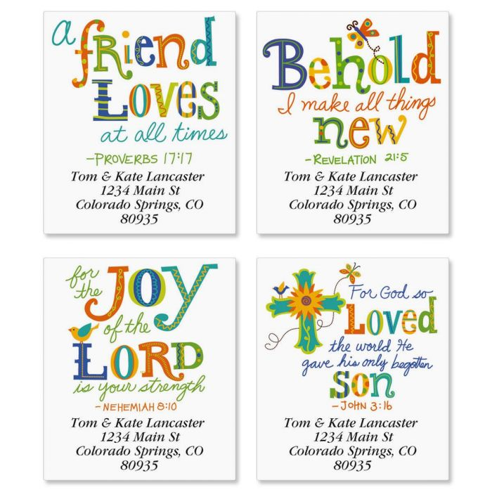 Christian Joy Select Address Labels  (4 designs)