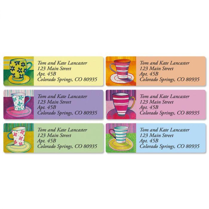 Coffee Break Classic Address Labels  (6 Designs)