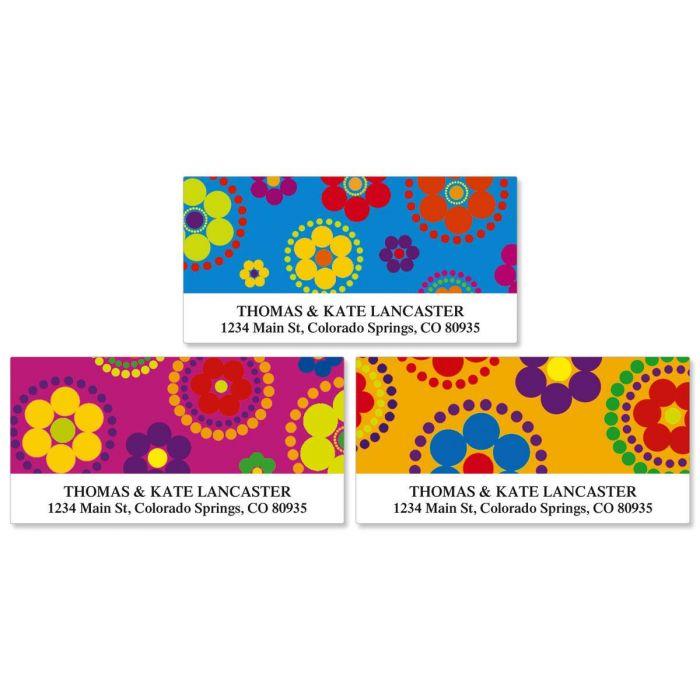 Fiesta Deluxe Address Labels  (3 Designs)