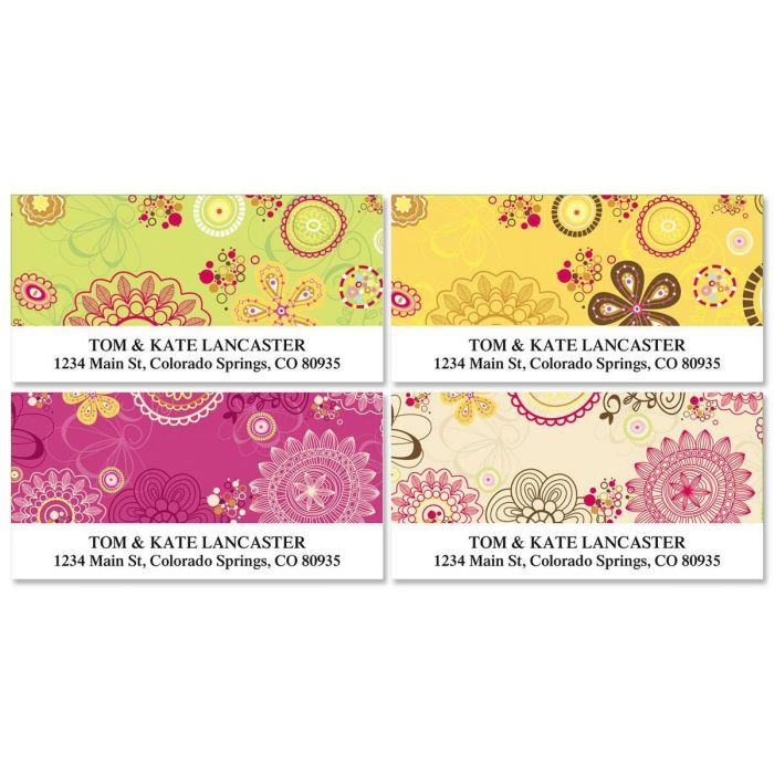 My Life Deluxe Address Labels  (4 designs)