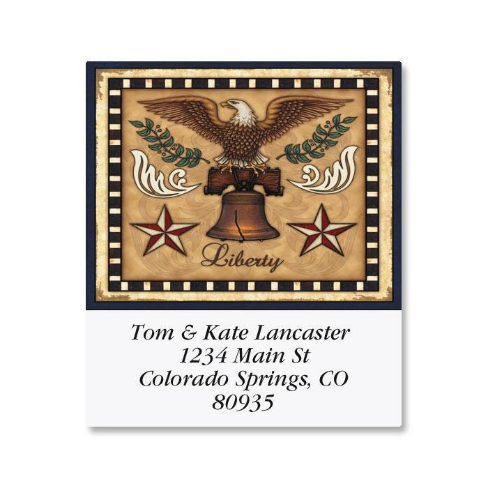 Liberty! Select Address Labels  (6 Designs)