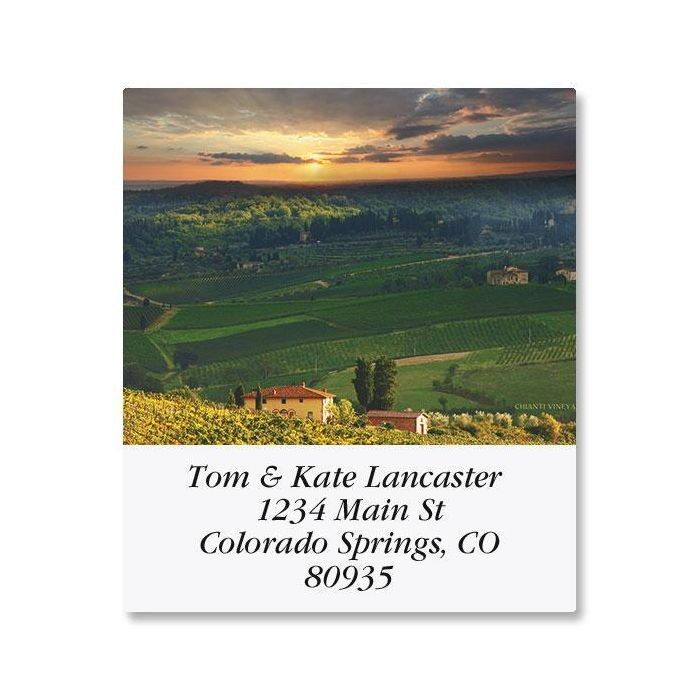 Wine Country Select Address Labels  (12 Designs)