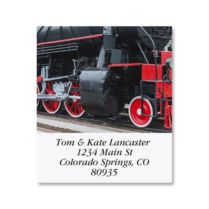 Trains Select Address Labels  (6 Designs)