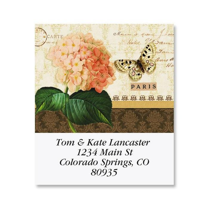 Grande Fleur Select Address Labels  (6 Designs)
