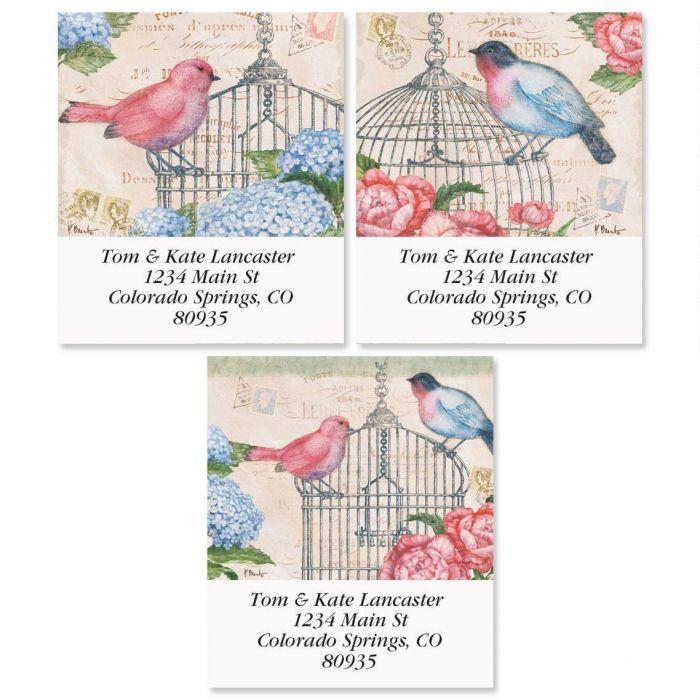 Bella Flora Select Address Labels  (3 Designs)