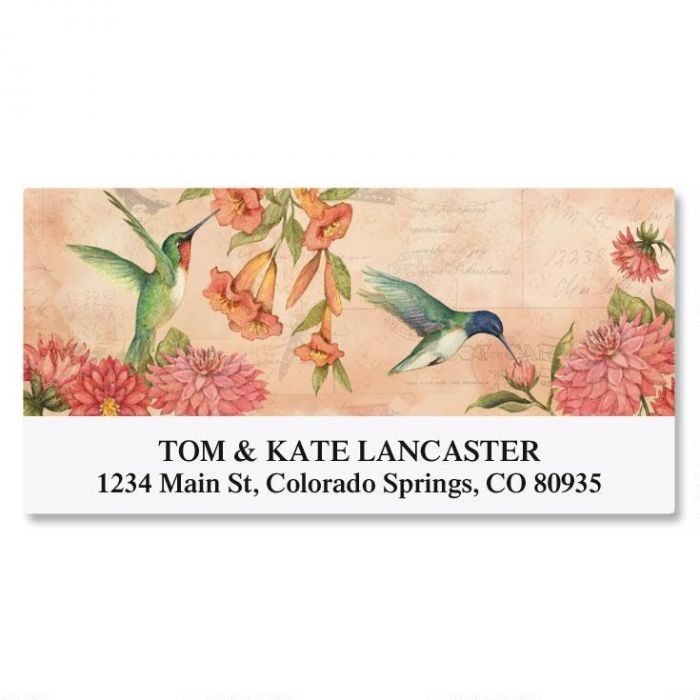 seasonal birds deluxe address labels current catalog