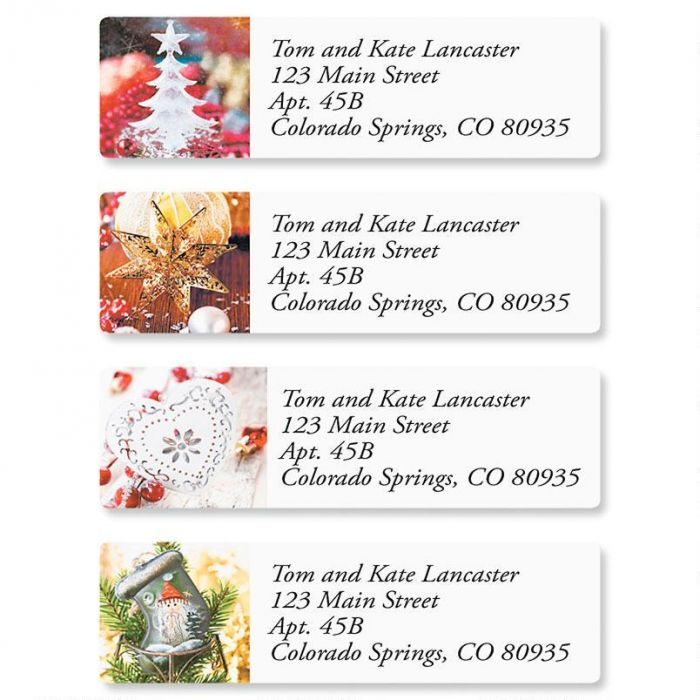 Traditions Classic Address Labels  (4 Designs)