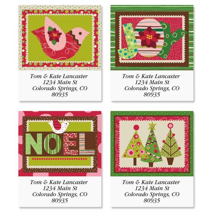 Modern Noel Select Address Labels  (4 Designs)