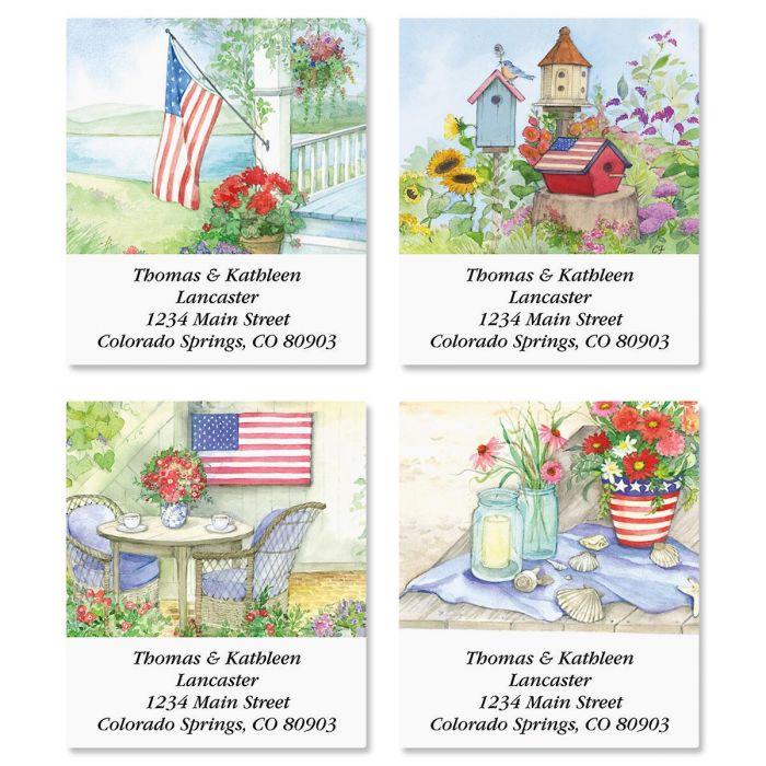 Land of Liberty Select Address Labels  (4 Designs)