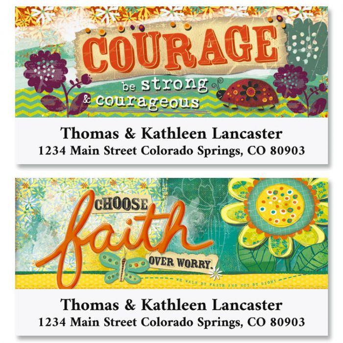 Choose Faith Deluxe Address Labels (2 Designs)