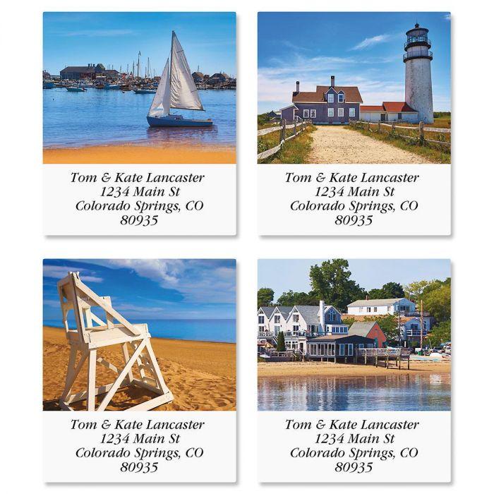 Cape Cod Select Address Labels  (4 Designs)