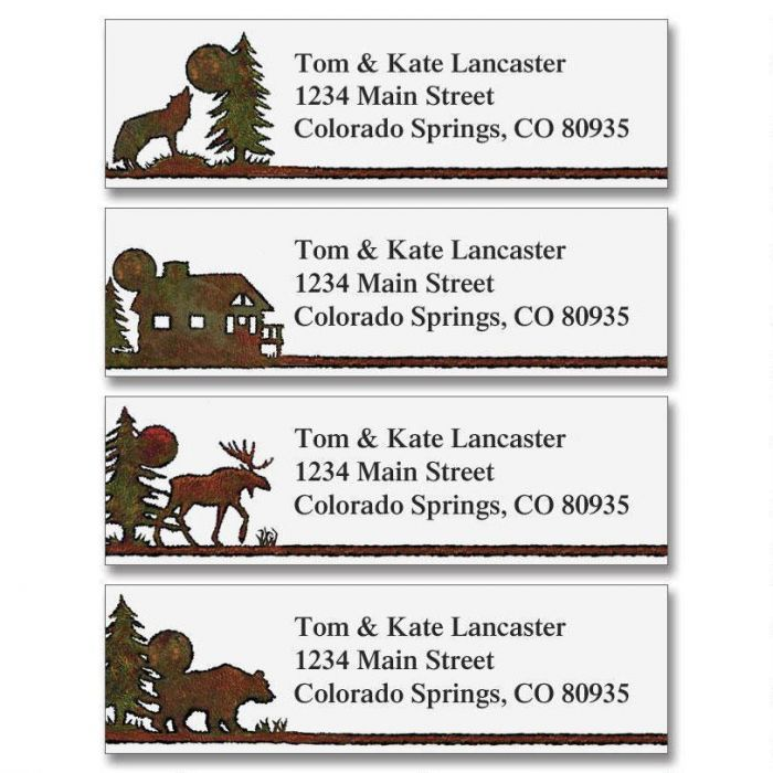 Country Lodge Classic Label  (4 designs)